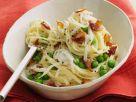 Garden Pea and Bacon Pasta recipe