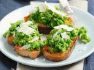 Garden Pea Toasts recipe