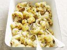 Garlic Roasted Cauliflower with Parmesan recipe