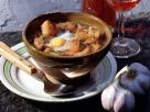 Garlic Soup with Egg recipe