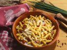 Gemelli Pasta with Ham and Cream Sauce recipe