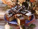 German Baumkuchen Cake with Chocolate Decor recipe