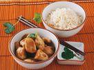 Glazed Chicken Stir-fry with Rice recipe