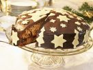 Glazed & Decorated Christmas Cake recipe