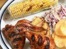 Glazed Fruity Chicken Pieces recipe