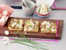 Glazed Mushroom Crostini recipe