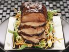 Glazed Veal with Vegetables recipe