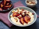 Gluten-free Millet Bowl with Roasted Plums recipe