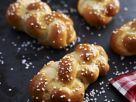 Gluten-Free Sesame Bread Knots recipe