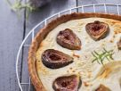 Goat Cheese and Fig Tart recipe