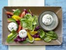 Goat Cheese and Spinach Salad recipe