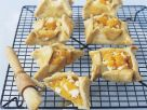 Goat's Cheese and Pumpkin Tarts recipe