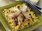 Golden Rice with Sliced Chicken recipe
