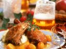 Goose Thighs with Orange Sauce recipe