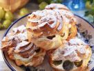 Gooseberry Cream Puffs recipe