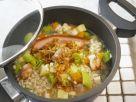 Grain and Pork Casserole recipe