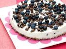 Granola, Chocolate and Blueberry Cheesecake recipe