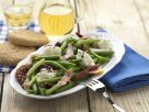 Greek-style Green Bean Salad with Bacon and Sun-dried Tomatoes recipe