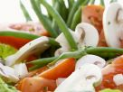 Green Bean, Mushroom and Tomato Green Salad recipe