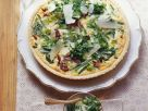 Green Bean Quiche with Parmesan recipe