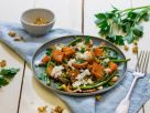 Green Bean Salad with Roasted Sweet Potato recipe