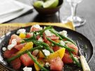 Green Beans with Melon and Citrus Fruits recipe