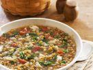 Green Leaf and Brown Lentil Stew recipe