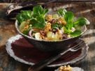 Green Salad with Camembert and Grapes recipe