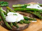 Grilled Asparagus with Poached Egg recipe