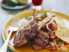 Grilled Chops with Tomato Salad recipe