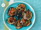Grilled Eggplant Slices with Topping recipe