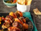 Grilled Pork and Apricot Skewers recipe