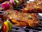 Grilled Pork Steaks recipe