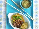Grilled Pork with Asian Apple Compote recipe