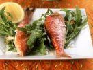 Grilled Red Mullet with Arugula Salad recipe