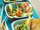 Grilled Scallops with Garnish recipe