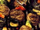 Grilled Skewers with Vegetables recipe