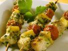 Grilled Swordfish Vegetable Skewers recipe