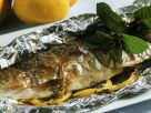 Grilled Trout with Dill and Lemon recipe