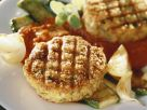 Grilled Veggie Cakes with Courgettes recipe