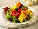 Grilled Veggie Kebabs recipe