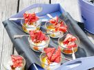 Grilled Watermelon with Goat Cheese recipe