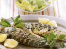 Grilled Whole Sea Bass recipe