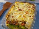 Ground Meat and Vegetable Gratin recipe