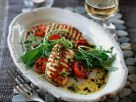 Halloumi with Salad recipe