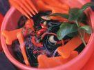 Halloween Black Pasta Salad recipe