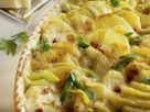 Ham and Cheese Gratin with Potatoes recipe