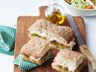 Ham and Mozzarella Sandwich with Pesto recipe