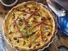 Ham and Pumpkin Quiche recipe