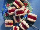 Hazelnut Cookies with Raspberry Jelly recipe